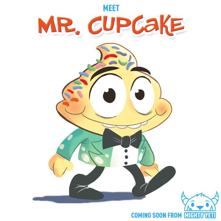 Meet Mr. Cupcake