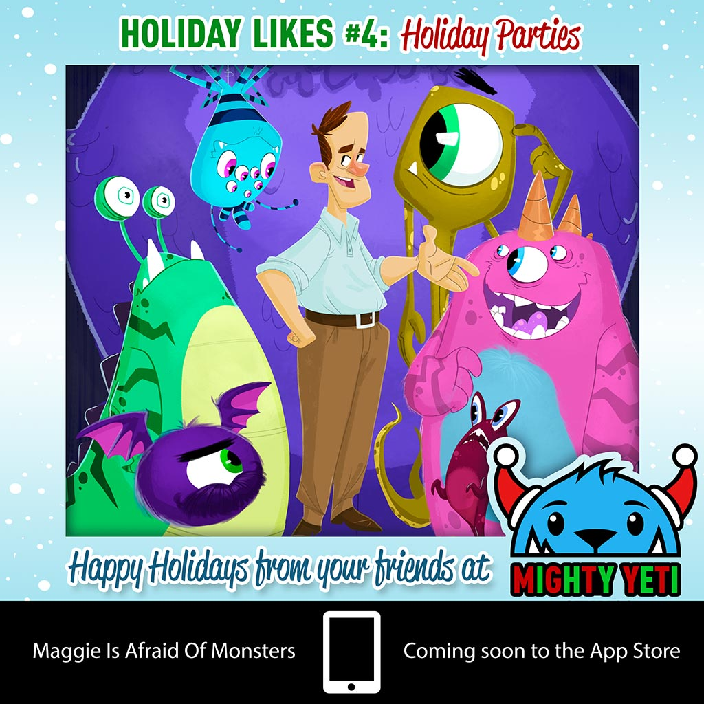 Mighty Yeti Holiday Likes 4