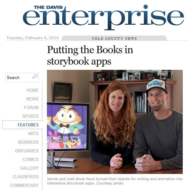 Mighty Yeti article in The Davis Enterprise newspaper