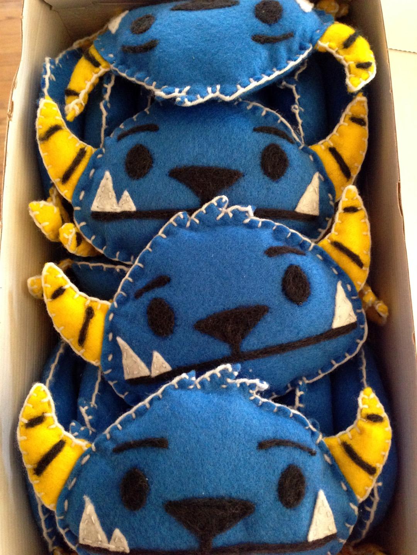 MIghty Yeti stuffed felt toy Kickstarter rewards