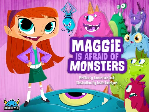 "Book cover image of ""Maggie Is Afraid Of Monsters"""